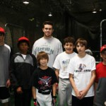 Evan Longoria with Clients's Children