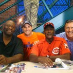 Lee Smith and George Foster with Clients